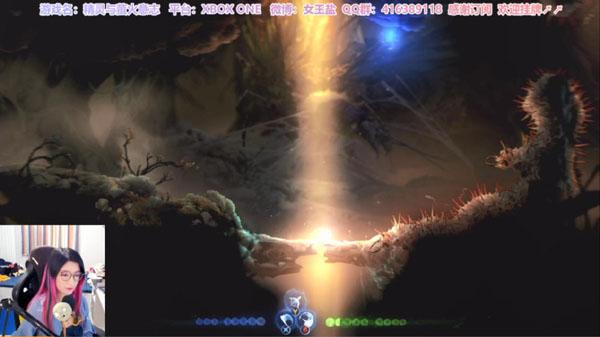 《精靈與螢火意志》登錄虎牙直播,治愈心靈的森林傳說