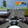 高速交通摩托车漂移