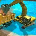 机械和挖掘机模拟器