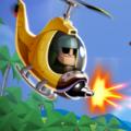 直升机飞行战斗