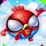 蜘蛛鸟跳跃