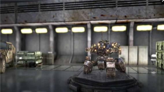 真实机器人钢铁战争3D截图