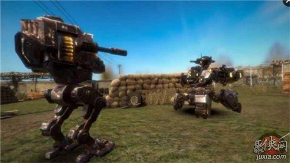 真实机器人钢铁战争3D