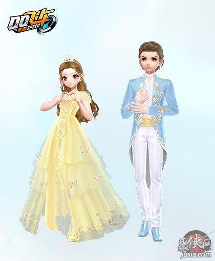 QQ飞车童话恋语套装怎么获取 童话恋语套装详情