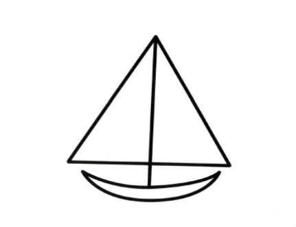qq画图红包帆船怎么画 帆船的简笔画法图片分享
