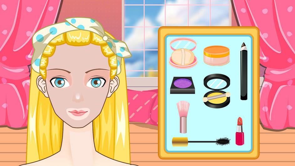 白雪公主学化妆截图