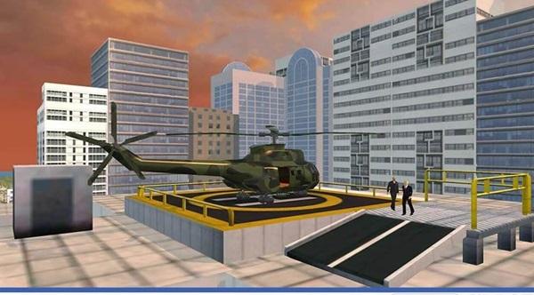 总统直升机截图