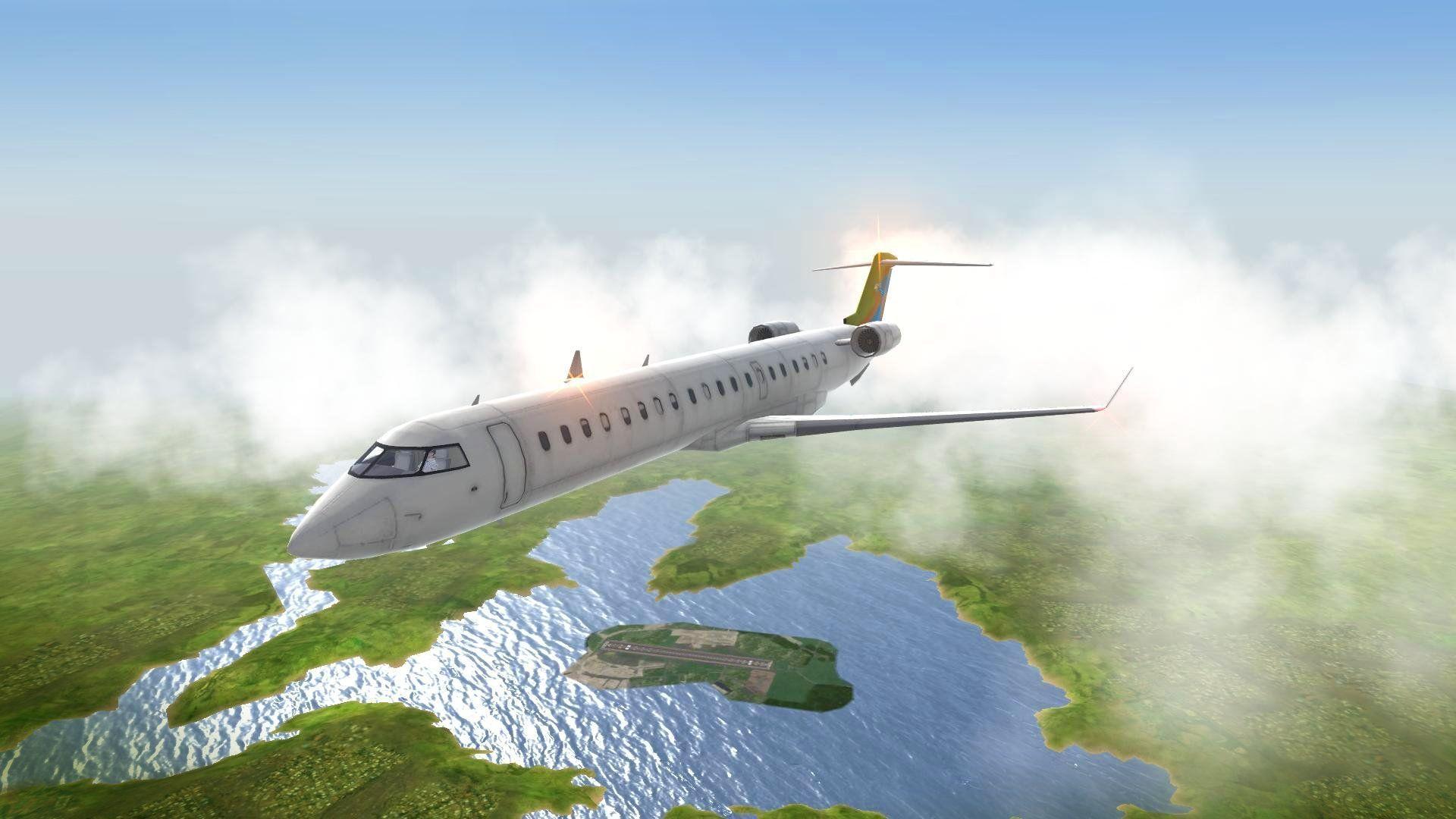 飞机起飞模拟器截图