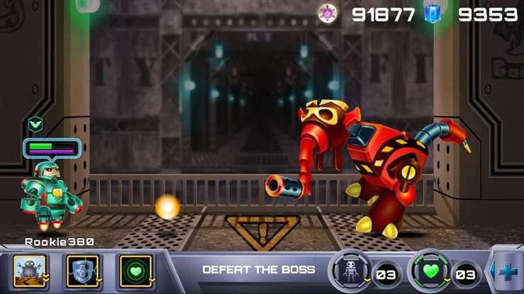 机器人:首次遭遇截图