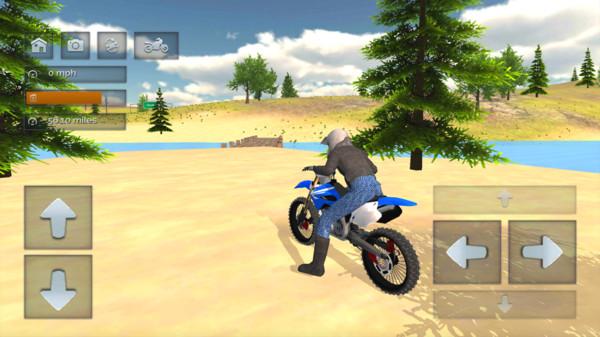 驾驶模拟器越野自行车截图