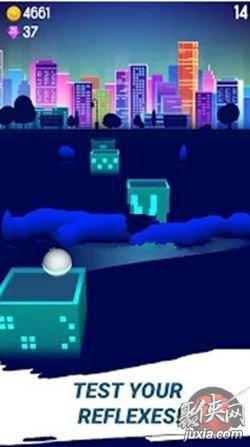 城市跳跃游戏