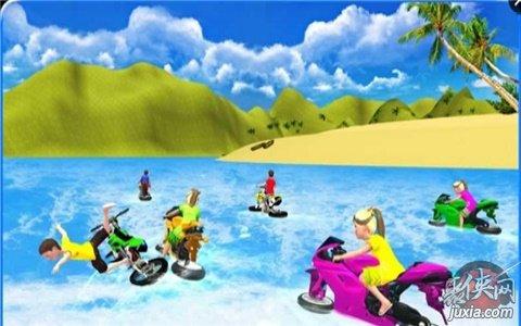 多人水上摩托车