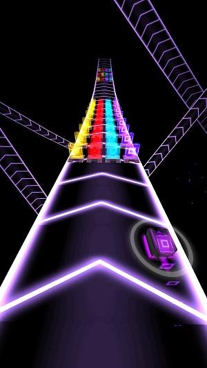 彩色道路3D截图