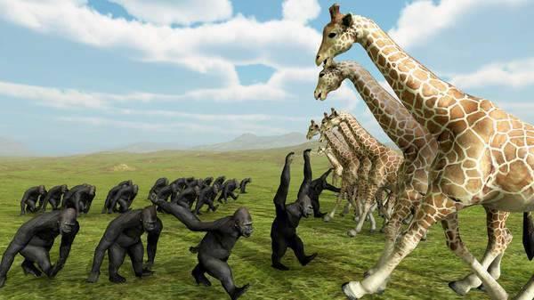 野兽王国战争模拟器截图