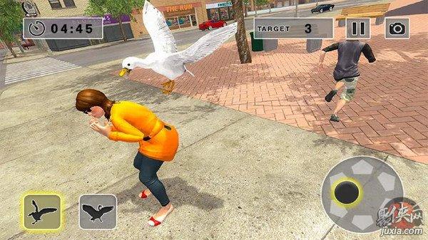 街头捣蛋鹅模拟器