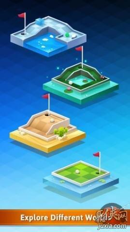 自上而下高尔夫
