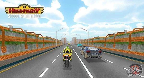 VR公路摩托车竞速