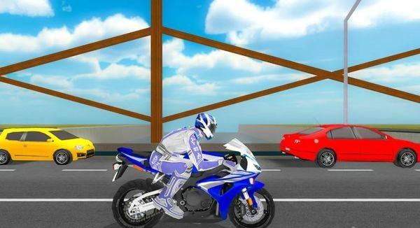 VR公路摩托车竞速截图