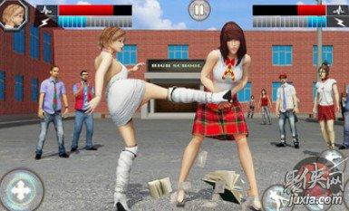 高中女生格斗