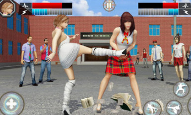 高中女生格斗截图