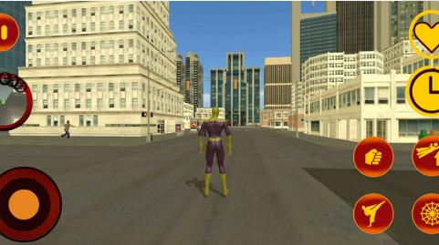飞蜘蛛忍者战争英雄截图