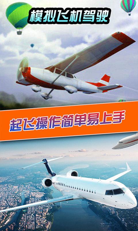 模拟飞机驾驶截图