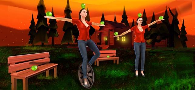 苹果射手女孩截图