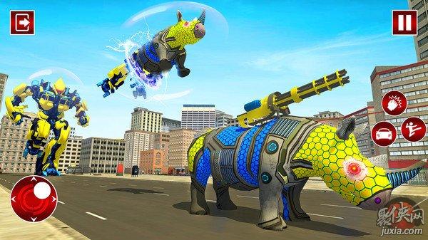 犀牛变形机器人