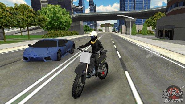 警车城市模拟器