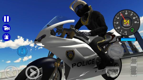 警车城市模拟器截图