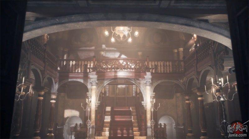 国外技术宅用虚幻4引擎完美重现生化危机斯宾塞洋馆!