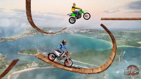 不可能的摩托车游戏