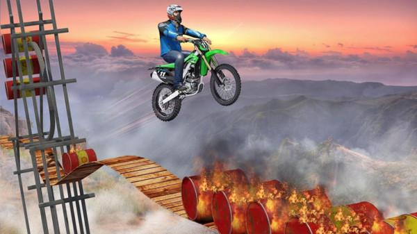 不可能的摩托车游戏截图