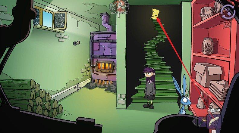 《埃德娜和哈维:逃离疯人院》完整图文全攻略第一章1