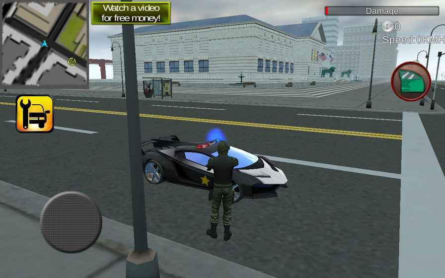 警方驱动VS恐怖分子截图