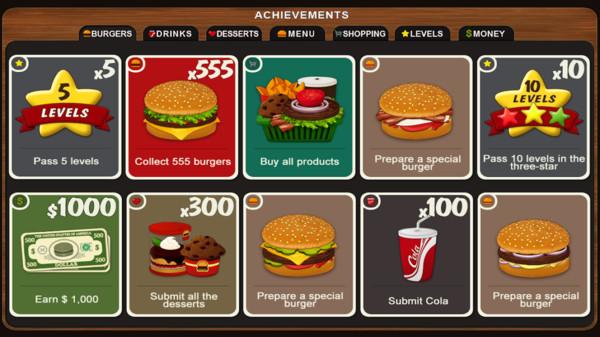 美味汉堡厨师截图