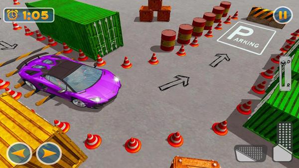 现代停车场3D截图