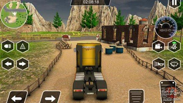真实的卡车模拟器3D
