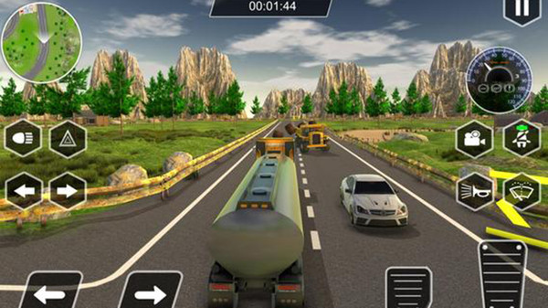 真实的卡车模拟器3D截图