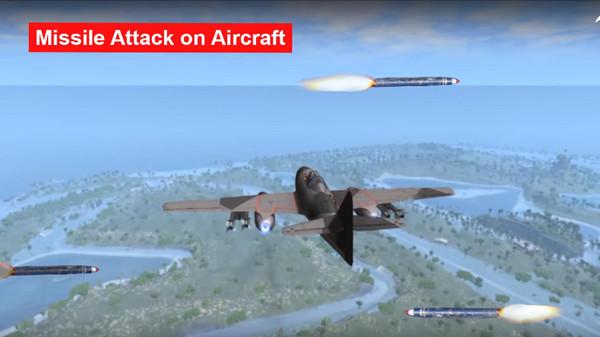导弹空袭行动截图