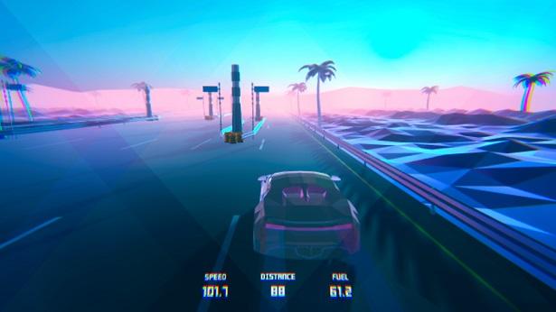 公路赛车3D自由驾驶截图