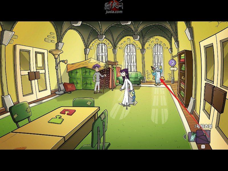 《埃德娜和哈维:逃离疯人院》完整图文全攻略第五章5