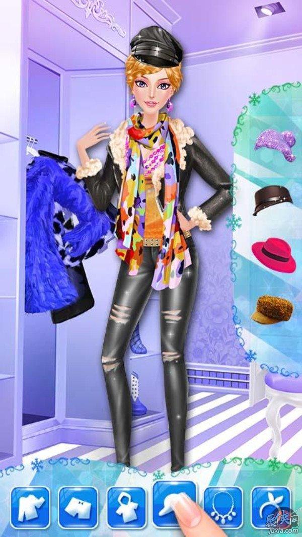 女孩的冬季时尚