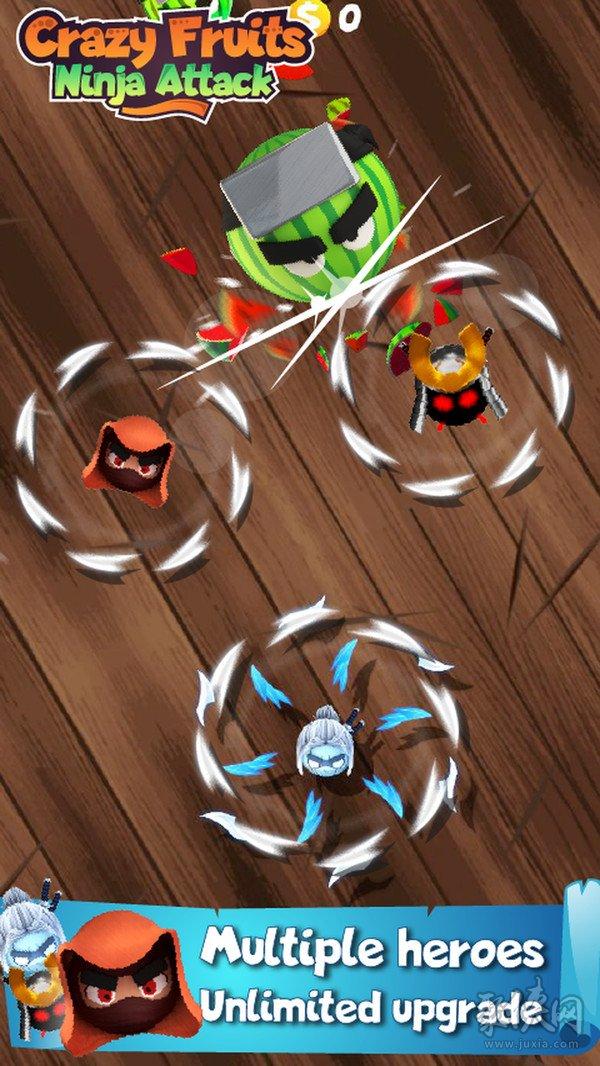 疯狂水果:忍者攻击