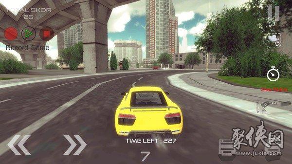 R8跑车漂移