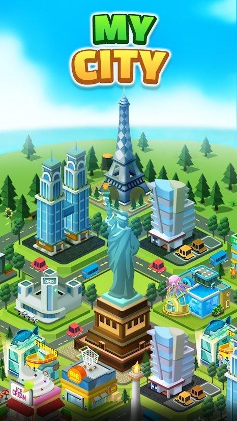 我的城市岛截图