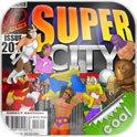 超级城市英雄卡