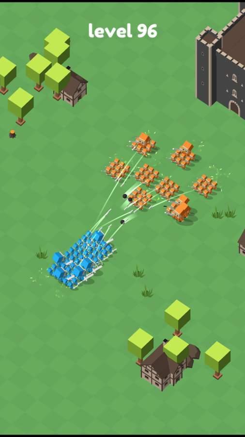 军队冲突截图