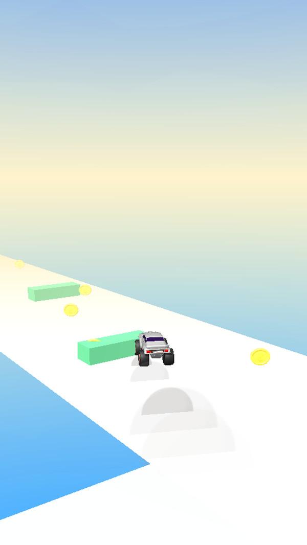 卡车行驶3D截图
