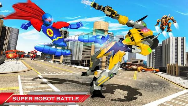 飞行英雄机器人截图
